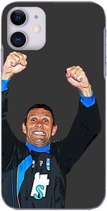 Brighton and Hove Albion - Gus Poyet after clinching promotion to the Championship 2011