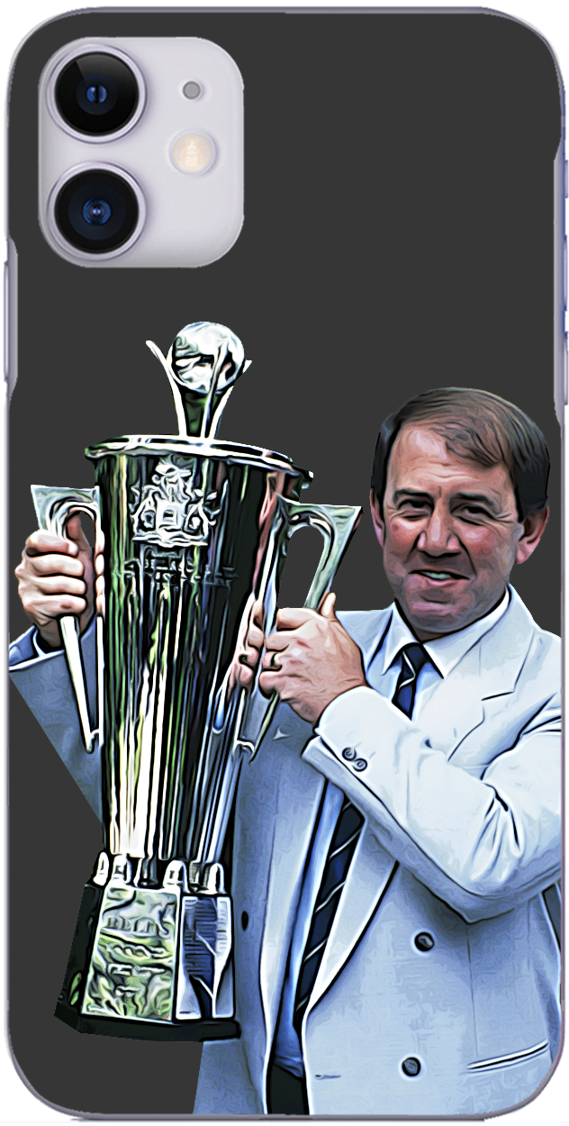 Everton - Howard Kendall wins Manager of the Year 1987