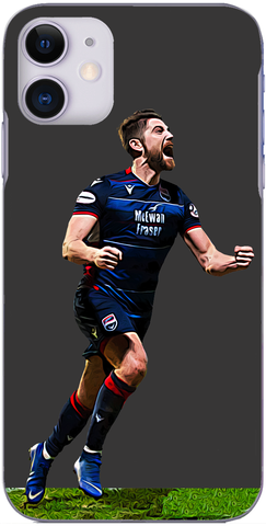 Ross County - Iain Vigurs scores at McDiarmid Park 2019