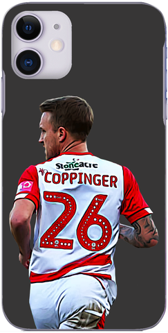 Doncaster Rovers - James Coppinger in action against Palace 2019