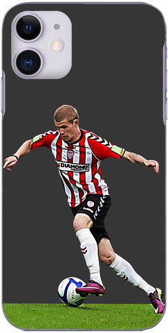 Derry City - James McClean in action for Derry City 2011