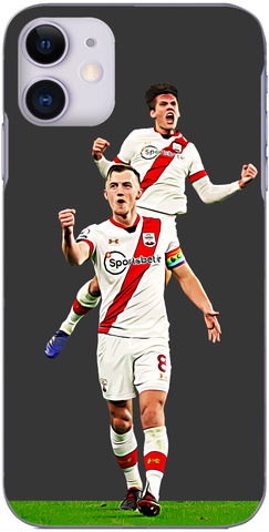 Southampton - James Ward-Prowse and Jannik Vestergaard celebrate scoring at The Amex 2020