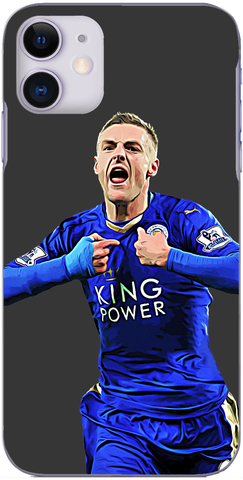 Leicester City - Jamie Vardy scores against United to break Ruud Van Nistlerooy's record 2015