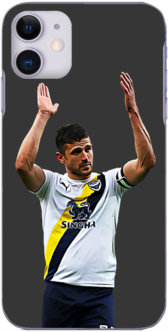Oxford United - John Mousinho applauds the travelling fans 2019