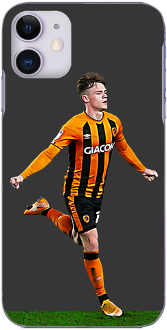 Hull City - Keane Lewis-Potter celebrates scoring against The Dons 2020