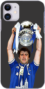 Everton - Kevin Ratcliffe lifts the FA Cup 1984