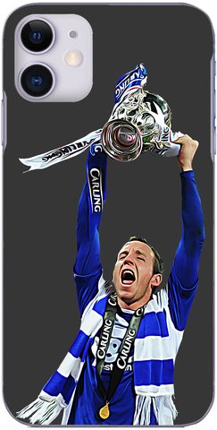 Birmingham City - Lee Bowyer with the League Cup 2011