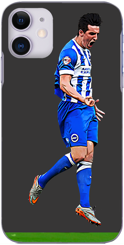Brighton and Hove Albion - Lewis Dunk opens the scoring play off semi-final 2016