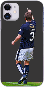 Falkirk - Luke Leahy after his 'Goal of the Decade' 2016