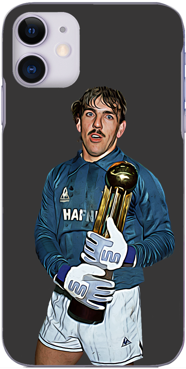 Everton - Neville Southall with the league title 1985