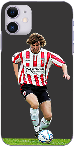 Derry City - Paddy 'The Derry Pelé' McCourt in action for the Candystripes 2007
