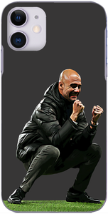 Man City - Pep Guardiola celebrate's City's first goal against Zagreb 2019