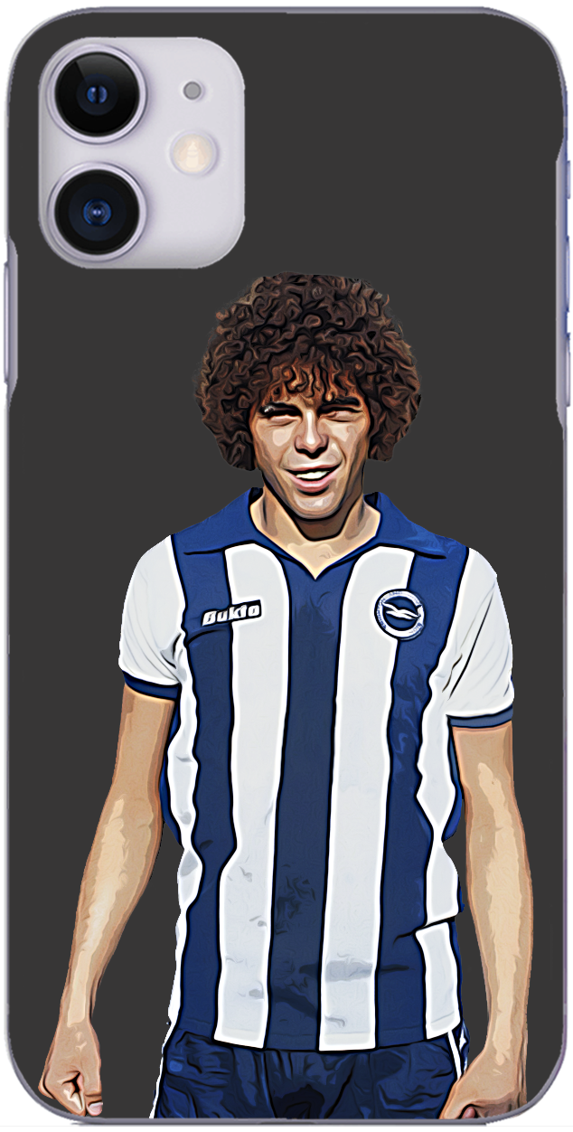 Brighton and Hove Albion - Brighton's all time cult hero Peter Ward in 1979