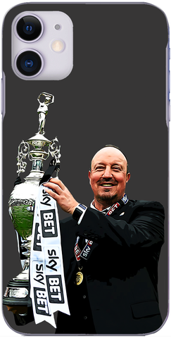 Newcastle United - Rafa Benitez with the Championship trophy 2017