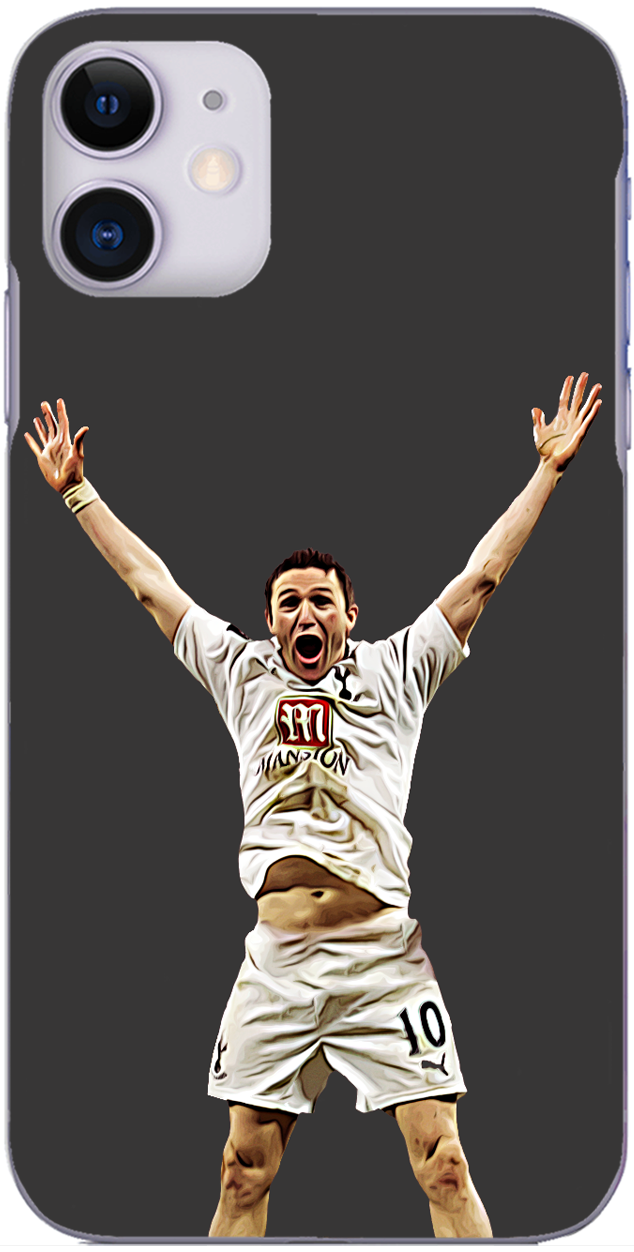Tottenham Hotspur - Robbie Keane after League Cup final win 2008