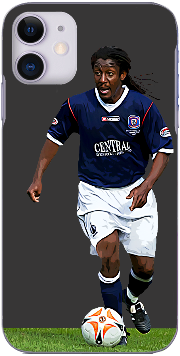 Falkirk - Russell Latapy in action for Falkirk 2007