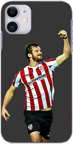 Derry City - Candystripes legend Ryan McBride scores against Drogheda 2017