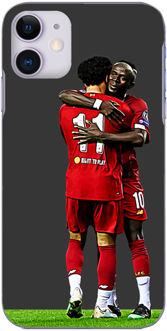 Liverpool - Salah and Mane embrace Champions League 2019
