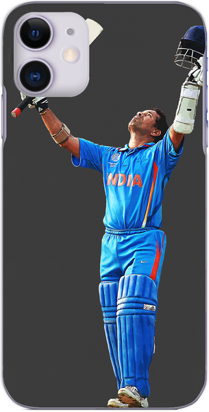 India Cricket - Sachin Tendulkar scores 100 against England 2011