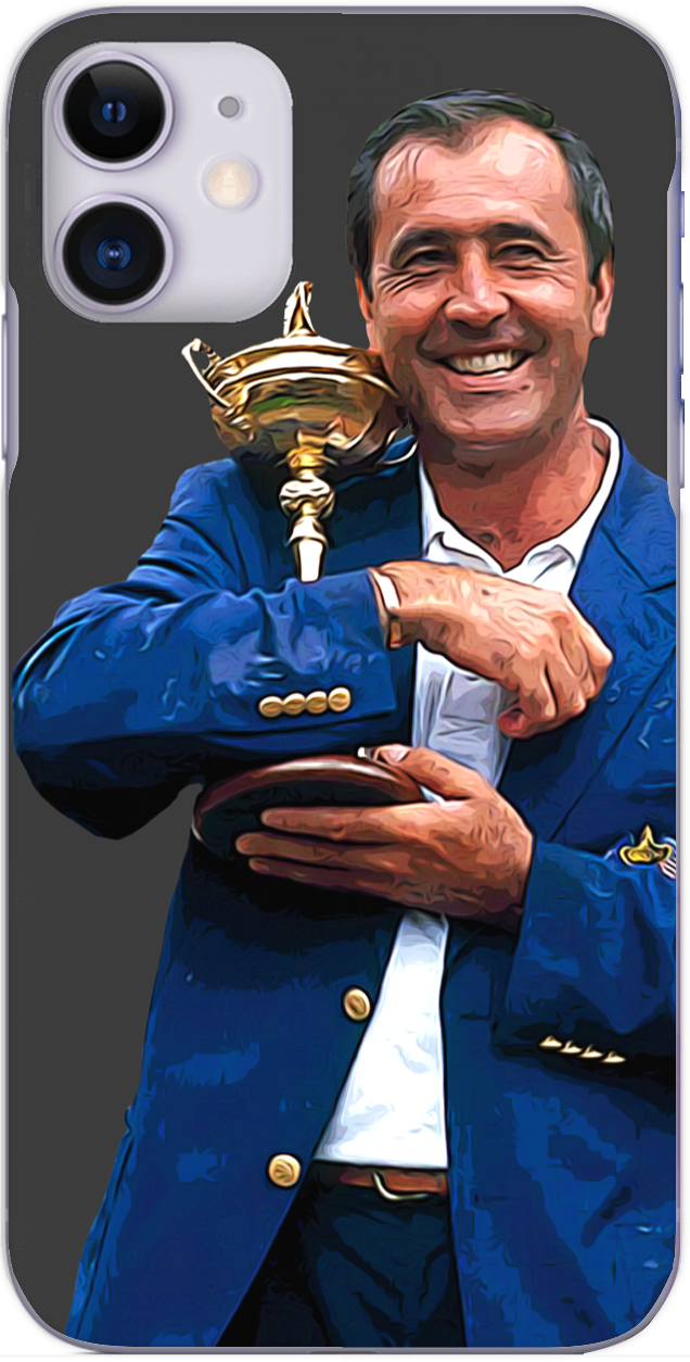 Seve Ballesteros with the Ryder Cup 1997