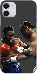 Evander Holyfield throws a punch at Michael Dokes 1989