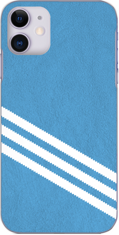 3 Stripe Collection - Sky blue and white