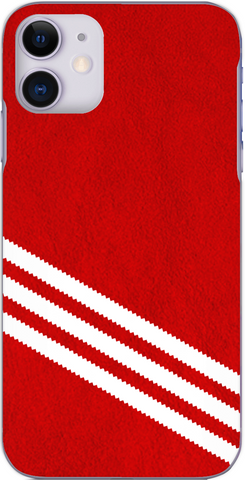 3 Stripe Collection - Red and white