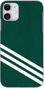 3 Stripe Collection - Dark green and white