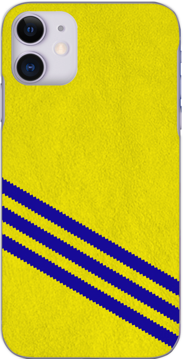 3 Stripe Collection - Yellow and blue