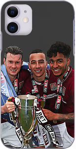 Northampton Town - Players celebrate winning League 2 2016