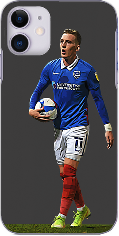 Portsmouth - Ronan Curtis in action for Pompey 2020