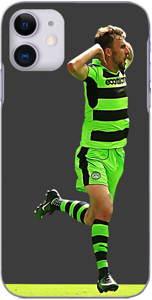 Forest Green Rovers - Christian Doidge scores in the play off final 2017