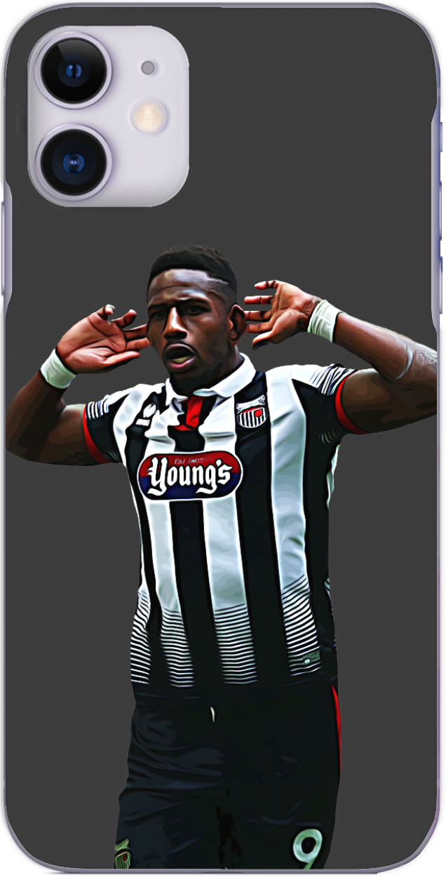 Grimsby Town - Omar Bogle scores his second National League play off final 2016