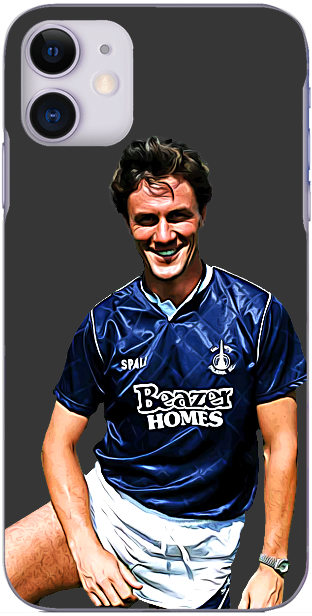Falkirk - Simon Stainrod pictured in pre-season 1990