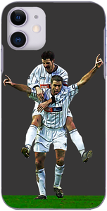 Dunfermline Athletic - Stevie Crawford celebrates his goal against Hibs with Craig Brewster 2003