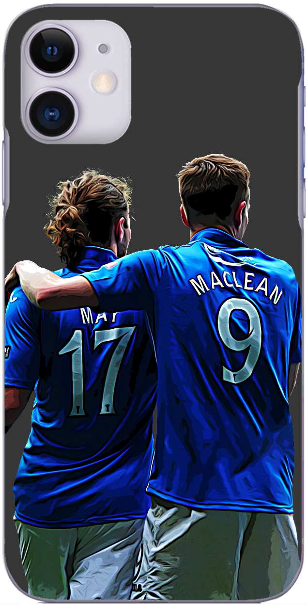 St. Johnstone - Stevie May and Steven MacLean embrace at full time Scottish Cup final 2014