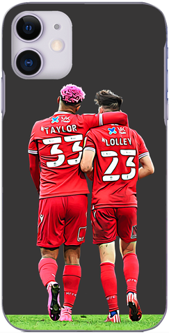 Nottingham Forest - Lyle Taylor and Joe Lolley celebrate at Ewood Park 2020