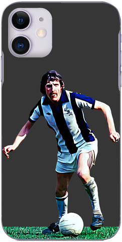 West Brom - Tony 'Bomber' Brown in action for Albion 1977