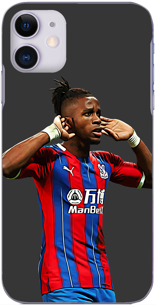 Crystal Palace - Wilfried Zaha celebrate's Palace's equaliser at The Etihad 2020