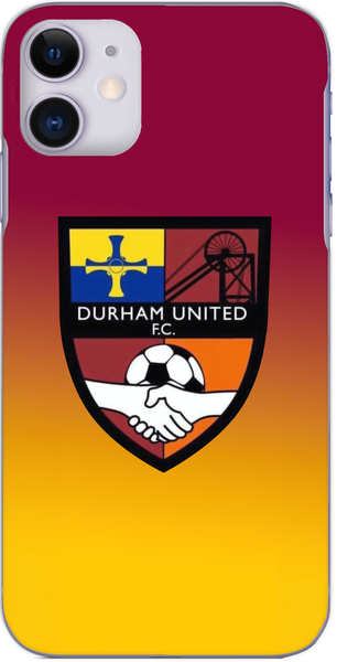 Durham United FC - Yellow/Claret