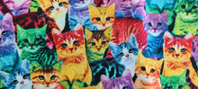 Load image into Gallery viewer, 1147 Colourful Cats (low in stock)