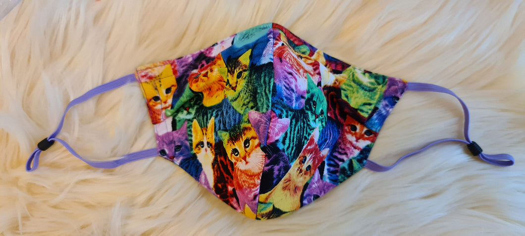 1147 Colourful Cats (low in stock)