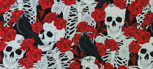 1161 Skulls Crows and Roses