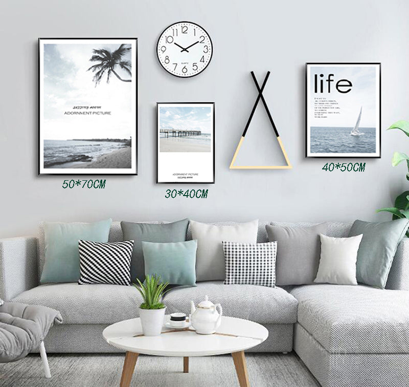 5pcs Wall Decorative Frame