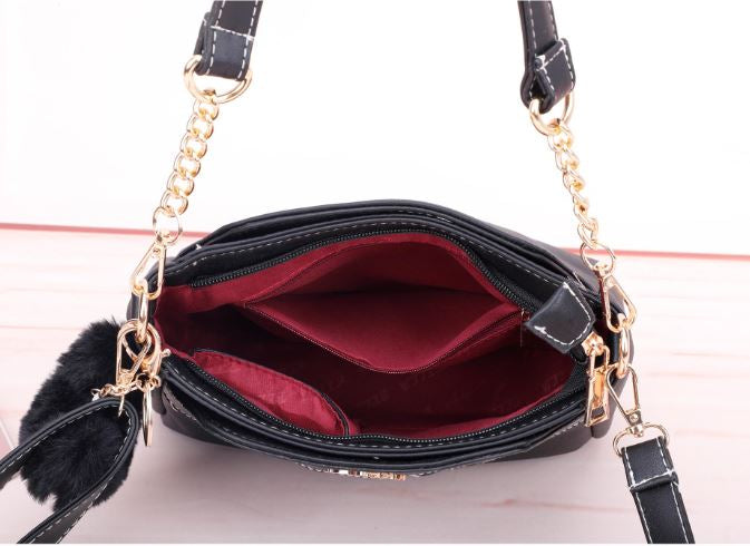 Synthetic Chain Sling Bag