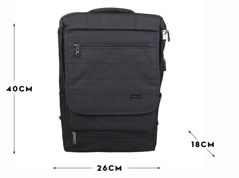 Multi Compartments Travel Laptop Backpack