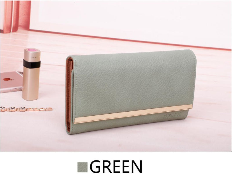 Soft PU Leather Wallets For Women