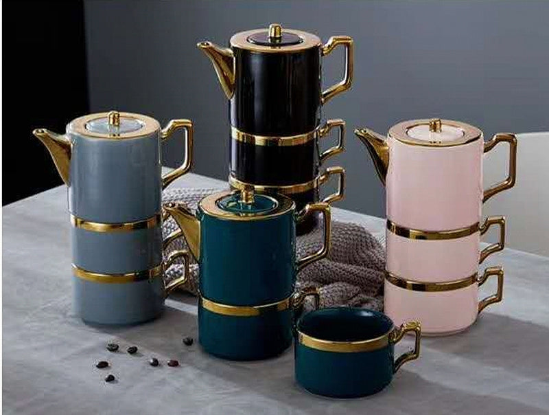 3pcs Luxury English Tea Set