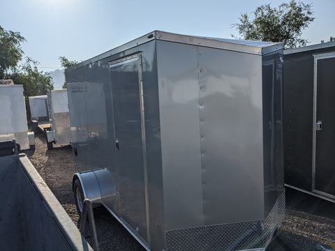 2021 Enclosed American Hauler 6'x12' - Taurus Trailers