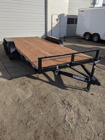 7'x16' Tandem Axle WorkHorse Car Hauler - Taurus Trailers